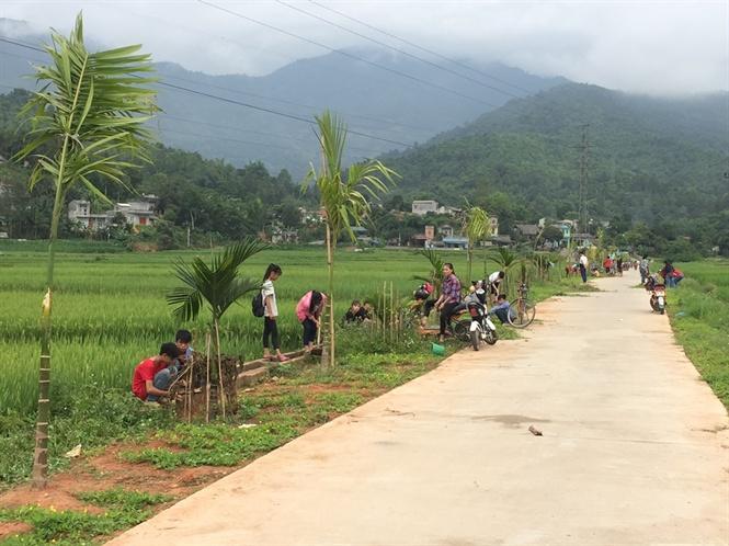 Công tác vận động cộng đồng và người dân thôn làng Pẳn (Bát Xát, Lào Cai) tham gia xây dựng thôn nông thôn mới